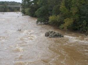 Haw River Flood Stage Bynum (4)