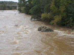 Haw River Flood Stage Bynum (4)